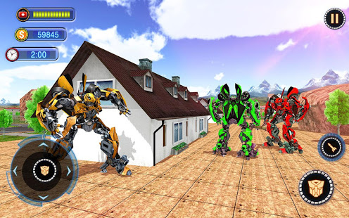 Download US Robot Car Transform - Police Robot Fighting 1.0.5 Apk for android
