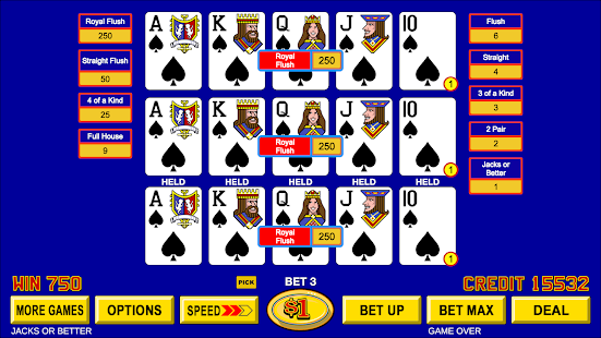 Download Video Poker - Classic Casino Games Free Offline 1.5.3 Apk for android