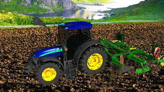 Download Village Tractor Games:Chained Tractor Offroad Game 1.00.0000 Apk for android