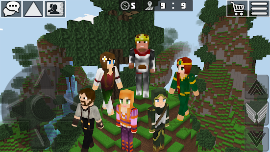 Download WorldCraft: 3D Build & Block Craft 3.6.3 Apk for android