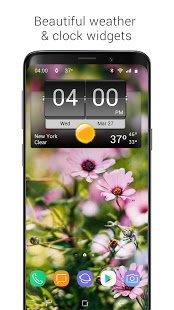 Download 3D Flip Clock & Weather (Ad-free) 5.84.18 Apk for android