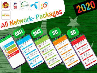 Download All Network Packages Pakistan 2021: 3.7 Apk for android