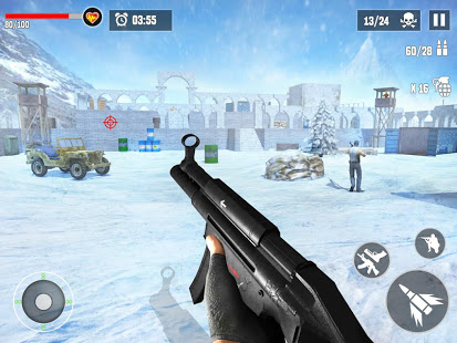 Download Anti-Terrorist Shooting Mission 2020 4.4 and up Apk for android