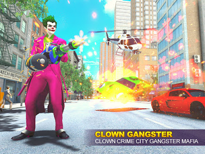 Download Clown Crime City Mafia: Bank Robbery Game 1.31 Apk for android