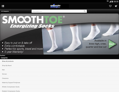 Download CompressionStockings.com 5.46.0 Apk for android