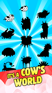 Download Cow Evolution - Crazy Cow Making Clicker Game 1.11.4 Apk for android