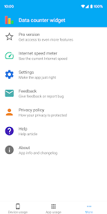 Download Data counter widget: Data usage manager / monitor Apk for android