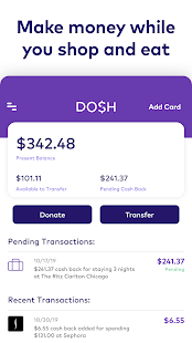 Download Dosh: Save money & get cash back when you shop 3.42.0 Apk for android