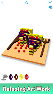 Download Food 3D Color by Number: Voxel Coloring Book Pages 2.8 Apk for android