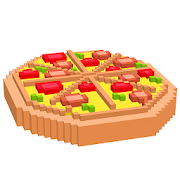 Food 3D Color by Number: Voxel Coloring Book Pages 2.8 Apk for android