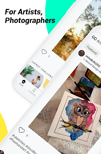 Download GoSocial - Photography, Writing, & Art Challenges 0.6.1-prod Apk for android