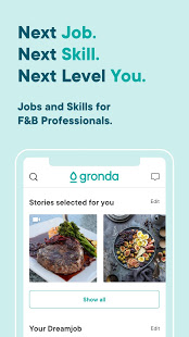 Download Gronda - Jobs & Skills for F&B Professionals 4.35.2 Apk for android