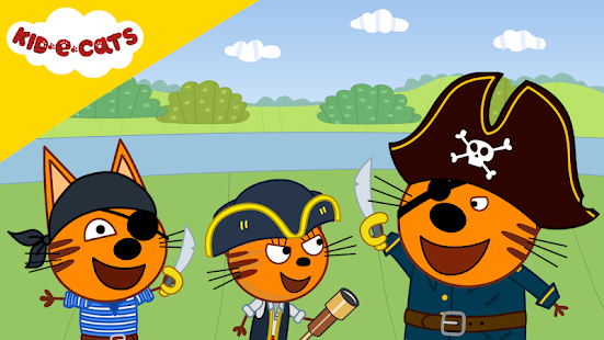 Download Kid-E-Cats: Pirate treasures. Adventure for kids 1.2.3 Apk for android