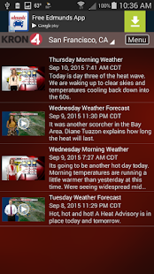 Download KRON4 Wx - San Francisco 5.1.209 Apk for android