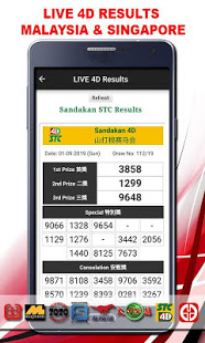 Download LIVE 4D Results 3.0.0 Apk for android