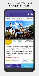 Download LivingSocial UK & Ireland 4.9 Apk for android
