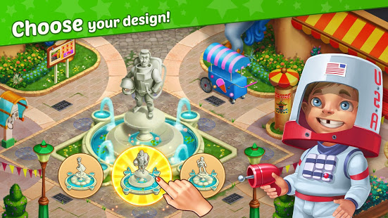 Download Matchland - Build your Theme Park 1.8.0 Apk for android