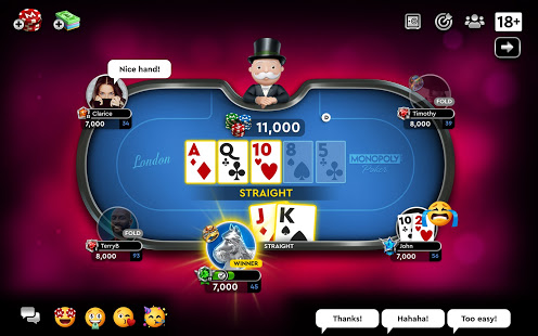 Download MONOPOLY Poker - The Official Texas Holdem Online 1.0.15 Apk for android