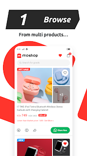 Download Moshop - Shopping & Working from Home 2.0.1 Apk for android