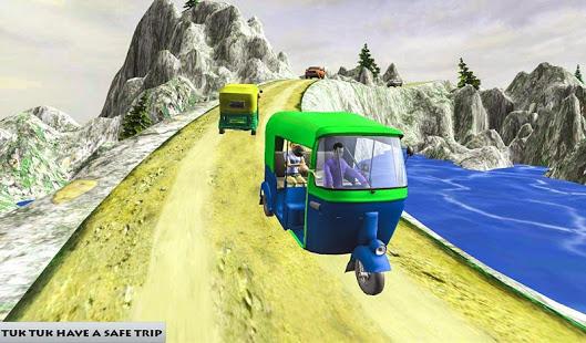 Download Mountain Auto Tuk Tuk Rickshaw : New Games 2021 2.0.25 Apk for android
