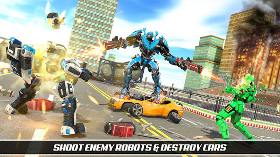 Download Multi Robot Car Game - Robot Transforming Games 1.0.6 Apk for android