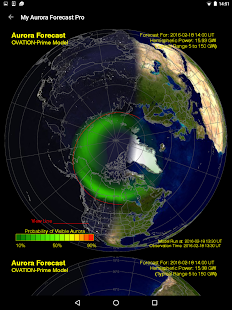 Download My Aurora Forecast - Aurora Alerts Northern Lights 4.0.1 Apk for android