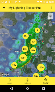 Download My Lightning Tracker - Live Thunderstorm Alerts 4.0.0 Apk for android