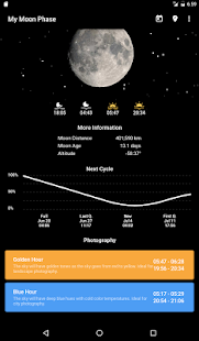 Download My Moon Phase - Lunar Calendar & Full Moon Phases 3.1.0.1 Apk for android