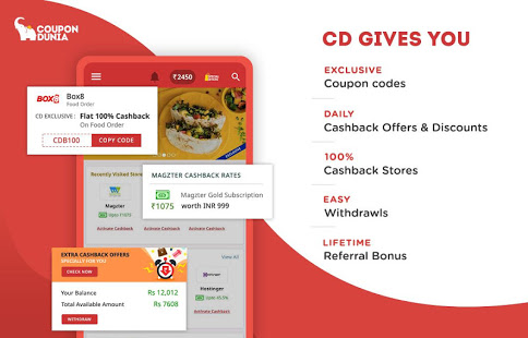 Download Online Coupons, Offers, Deals & Cashback 4.1.3.3 Apk for android