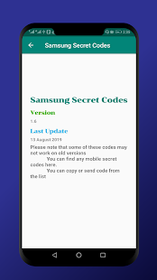 Download Phone Secret Codes(USSD Codes) 1.11 Apk for android