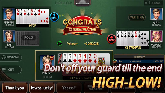 Download Poker Master - 7poker, High-Low, One Eyed Jack 1.9.1 Apk for android