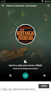 Download Rádio Só Sertanejo Universitário 6.0 Apk for android