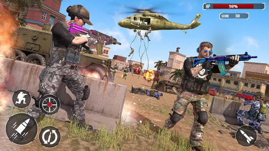 Download Real Counter Terrorist Shooting Strike - FPS games 1.8 Apk for android