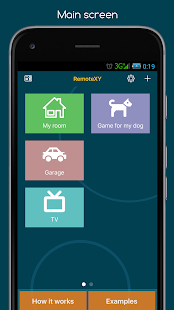Download RemoteXY: Arduino control 4.7.2 Apk for android