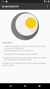Download Scrambled Exif 1.7 Apk for android