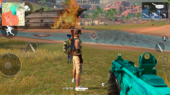 Download Squad Sniper Free Fire 3D Battlegrounds - Epic War 1.5 Apk for android