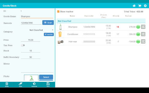 Download TapPOS Inventry Sales manager 5.0.3 Apk for android