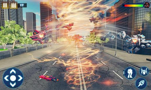 Download Tornado Robot Car Transform: Hurricane Robot Games 1.0.5 Apk for android