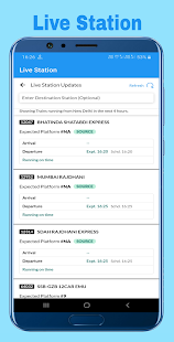 Download Train Enquiry, Live Train, Seat & PNR Status 7.5.3.37 Apk for android