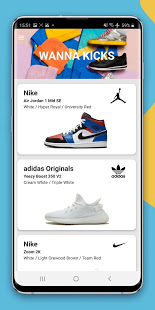 Download Wanna Kicks : AR sneakers try on Apk for android