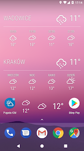 Download Weather ICM — the best forecast for Europe 1.5.6 Apk for android
