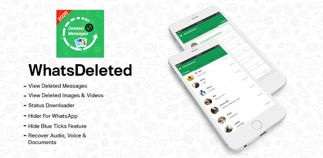 Download WhatsDelete: View Deleted Messages & Status saver 2.1.40 Apk for android