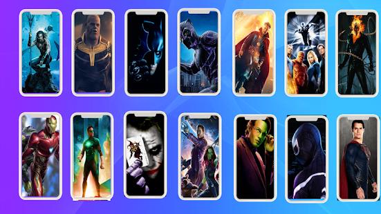 Download 4K Superhero Wallpaper 7.0 Apk for android