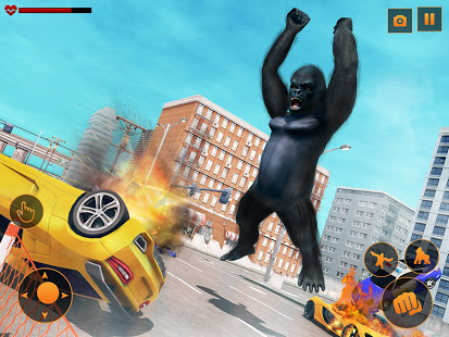 Download Angry Monster Gorilla - King Fighting Kong Games 2.2 Apk for android