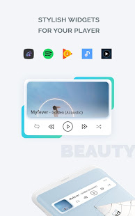 Download Audio Widget pack 2.0.7 Apk for android