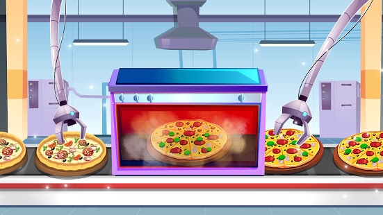 Download Cake Pizza Factory Tycoon: Kitchen Cooking Game 3.3 Apk for android