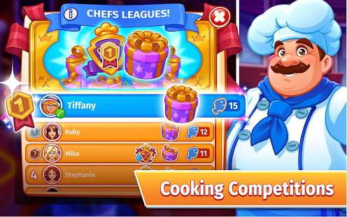 Download Cooking Craze: The Worldwide Kitchen Cooking Game 1.69.1 Apk for android