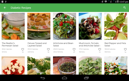 Download Diabetic Recipes : Healthy Food Apk for android