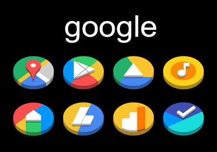 Download Dock Circle 3D - Icon Pack 3.8 Apk for android