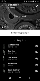 Download Dumbbell Home Workout 2.26 Apk for android